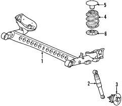 parts com® pontiac g5 rear axle oem parts 2007 pontiac g5 gt l4 2 4 liter gas rear axle
