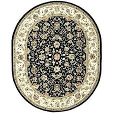 black and white round area rug 7 x 9 rugs ivory red 5x7