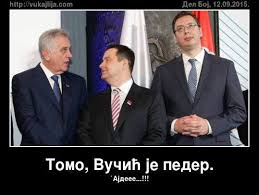 Image result for aleksandar vucic, seselj i tomic u ratu fotos