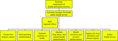 Organizational Structure Of The Phs And The Office Of The