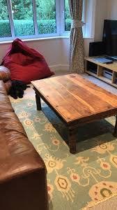 beautiful rustic indian coffee table