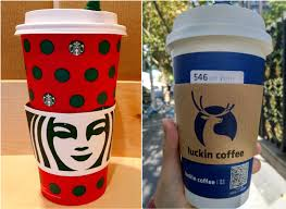 Luckin coffee soars with growth back on the menu. Pickup Experience In Starbucks Versus In Luckin Coffee Alltechasia