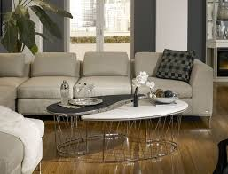 Michael Amini Living Room Furniture Aico Beverly Blvd 7 Piece Sectional Set By Michael Amini