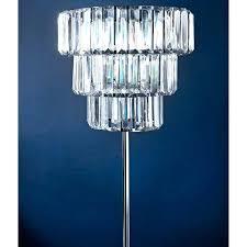 crystal chandelier floor lamp crystal chandelier floor lamp drop