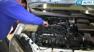 2001 Ford Focus ZX3 DOHC 2 0L  Testing the coil pack with a besides  together with 2003 Ford Taurus Misfire Problem   YouTube additionally  further  also Coil Pack Wiring Diagram Ls1 Coil Pack Wiring Diagram • Free also  besides SOLVED  I need to know where the spark plug wires go back   Fixya together with Part 1  How to Test the 4 Cylinder Coil Pack  Ford 1 9L  2 0L furthermore Edis 4 Wiring Diagram Edi Process Diagram • Free Wiring Diagrams likewise Ford Focus Misfire Fix   YouTube. on ford focus coil pack wiring