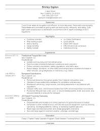 Dump Truck Driver Resume Dump Truck Driver Resume For Study Car