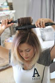 how to beach waves with short hair cowlick 3 605x907