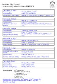 Montrose School - Term Dates