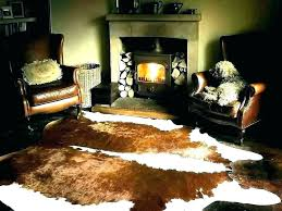 rugs ikea cowhide rug review how to clean faux sheepskin black white pad and cowhide rug