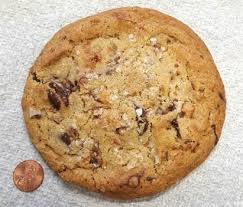 it s pretty obvious that this no mere cookie but checking out the panera reveals it to be a mighty 800 calories that s a hearty lunch right there