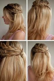 Coiffure Tresse Cheveux Mi Long Coiffure En Image