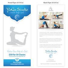 yoga flyer template design  yoga flyer template design