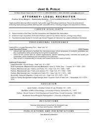 Attorney Resume Samples Template | Resume Builder