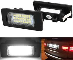 Bmw X5 License Plate Light Replacement Blyilyb License Plate Lights 12v Led White Lamps Bmw 1 3 5 Series X1 X3 X5 X6 M3 Pack Of 2