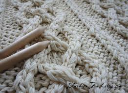 Cable Knit Blanket Pattern Awesome Inspiration