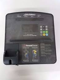 image is loading life fitness club series elliptical cross trainer console