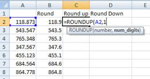 Excel Round Formulas Using Round Roundup And Rounddown Function In Excel