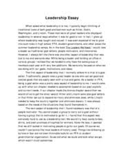 is leadership essay what is leadership essay