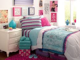 Pretty Teenage Bedrooms Pretty Teen Room Decor Ideas Blue And White Themed Bedroom