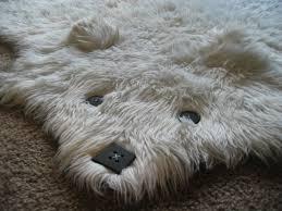 Faux Bearskin Rug Bear Skin Rug Faux Cievi Home
