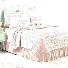 blush colored bedding ruffle quilt coordinates comforter pink twin set full size duvet cover pale sets queen