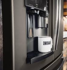 ge profile refrigerator with keurig. Unique Keurig GE Profile Series ENERGY STAR 222 Cu Ft CounterDepth French In Ge Profile Refrigerator With Keurig