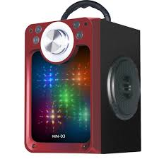 Portable LED Colorful MN 03 Bluetooth Speaker Super Bass Low Noise Wireless  Mp3 Speakers|Portable Speakers