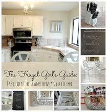 Updated Kitchens Livelovediy Creative Ways To Update Your Kitchen Using Paint