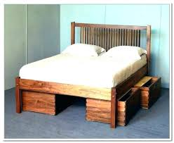 low platform beds with storage. Platform Bed With Drawers Queen Storage . Low Beds