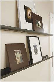 Floating Shelves For Picture Frames Extraordinary Floating Shelves For Photo Frames Awesome Floating Display Ledge