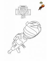 Fortnite Pumpkin Launcher Coloring Page Fortnite Pinterest Beste