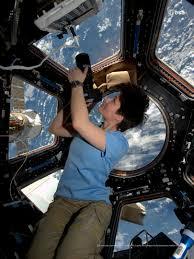 ESA - ESA astronaut Samantha Cristoforetti in the Cupola