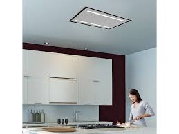lux air la90celuxsmss 90cm x 60cm ceiling hood in stainless steel 950m3hr ducting out only