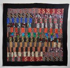 Quilt Inspiration: Necktie quilts for Dad &  Adamdwight.com