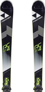 Fischer Rc4 Super Race 17 18 Carving Skis Z12 Bindings