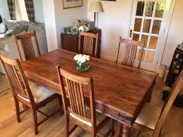 John Lewis Kitchen Furniture John Lewis Maharani Dining Table 6 Chairs In Durham County