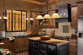 excellent chandelier kitchen lighting ideas for rustic kitchen design