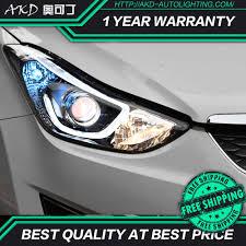 2012 Hyundai Elantra Running Light Bulb Akd Tuning Cars Headlight For Hyundai Elantra 2012 2016 Headlights Led Drl Running Lights Bi Xenon Beam Fog Lights Angel Eyes