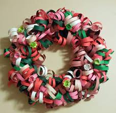 Christmas Paper Flower Wreath Christmas Projects 2013 Sweet Greets Hnpaperenchantments