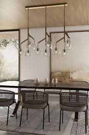 contemporary dining room lighting contemporary modern. The Sedona Triple Chandelier From Tech Lighting Is Best Described As A Deconstructed Modern Chandelier, Contemporary Dining Room I