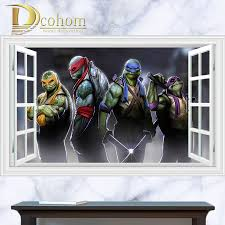 Ninja Turtle Bedroom Decor Online Get Cheap Teenage Mutant Ninja Turtles Bedroom Aliexpress