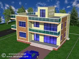 architecture design house plans. Plain House 3D Modern House Design Front View  With Architecture Design House Plans