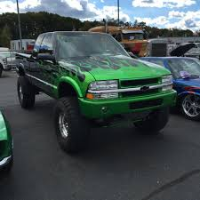 1995 Chevy s10 custom mix of house of kolor green flames lifted 5 ...