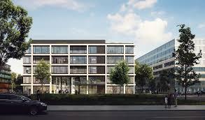 office facade. To Design The Facades Of Three New Office Buildings For ICampus Www.icampus-muenchen.de In Werksviertel District Munich. Facade
