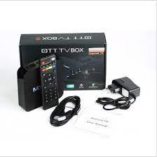 OTT TV BOX M PRO 4K 64bit Android 6.0 TV Box Quad Core 4K 2.0 WiFi KODI  16.0