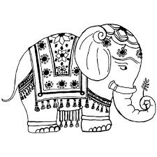 Small Picture 48 best Adult Coloring Elephants images on Pinterest Coloring