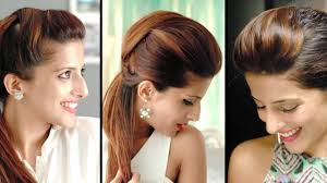 How To Make A Hair Style how to create the perfect pouf hairstyles and quick ponytail 4822 by wearticles.com