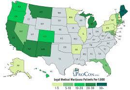 Number Of Legal Medical Marijuana Patients Medical