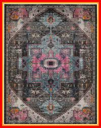 villanova black area rug rug size rectangle 3 x 5