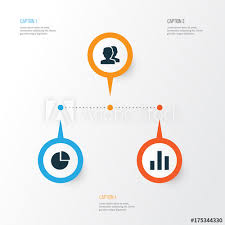 Unity Pie Chart Interface Icons Set Collection Of Column People Pie Chart